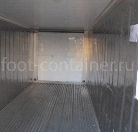 Рефконтейнер 20′ RC Carrier 2000 внутри