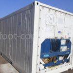Рефконтейнер 20′ RC Carrier 2002 сзади