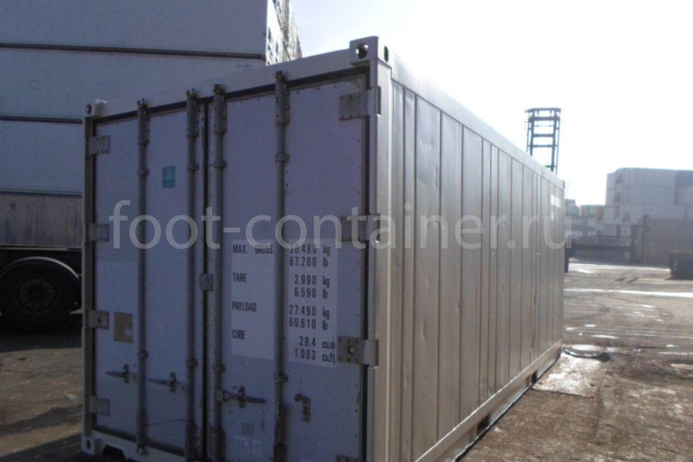 Рефконтейнер 20′ RC Carrier 2002 сбоку