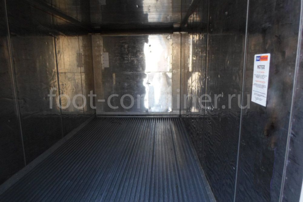Рефконтейнер 20′ RC Carrier 2002 внутри