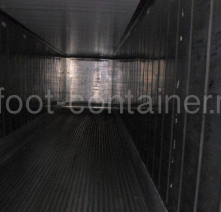 Рефконтейнер 40′ RCHC ThermoKing 2004 внутри