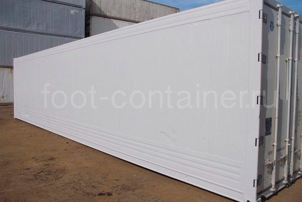 Рефконтейнер 40′ RCHC Carrier 2005 сбоку