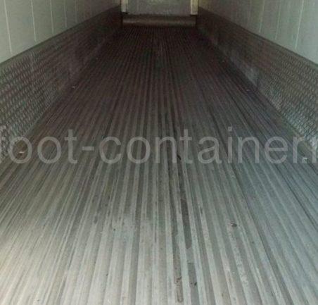 Рефконтейнер 40′ RCHC Carrier 2005 внутри