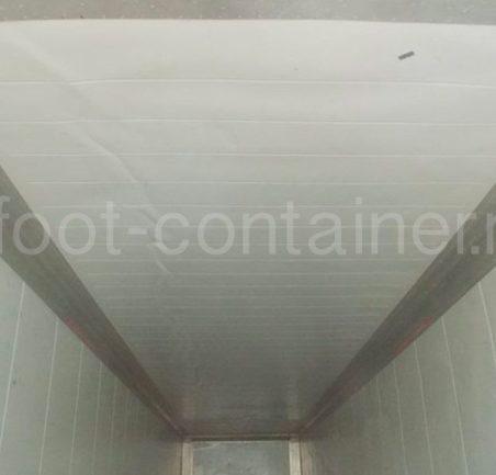 Рефконтейнер 40′ RCHC Carrier 2005 внутри потолок
