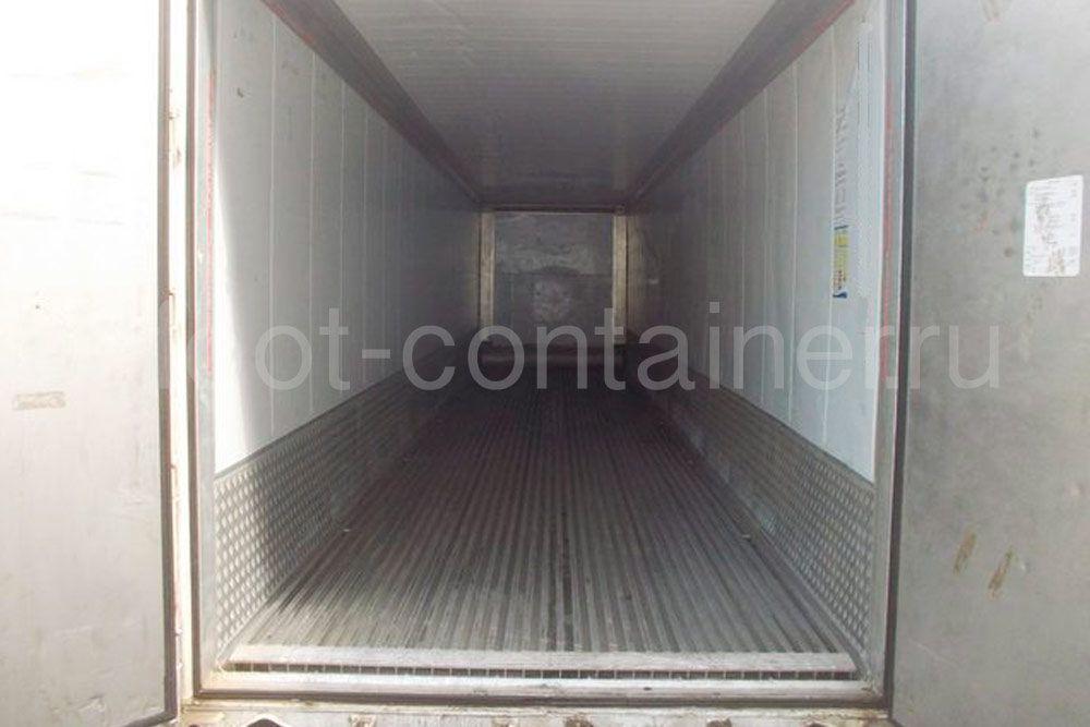 Рефконтейнер 40′ RCHC Carrier 2005 двери открыты