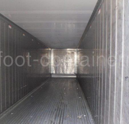 Рефконтейнер 40′ RCHC ThermoKing 2008 внутри