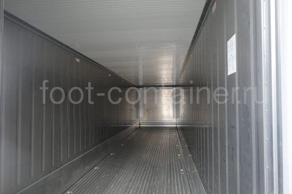 Рефконтейнер 40′ RCHC ThermoKing 2014 внутри