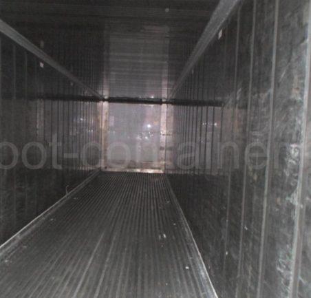 Рефконтейнер 40′ RCHC Carrier 1998 внутри