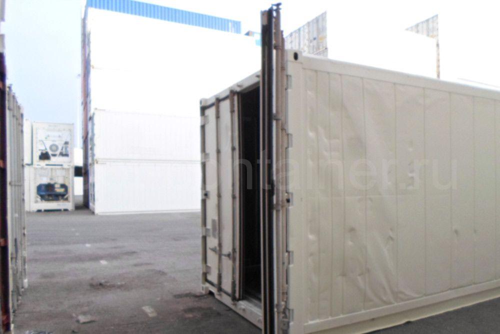 Рефконтейнер 40′ RCHC Carrier 1998 дверь открыта