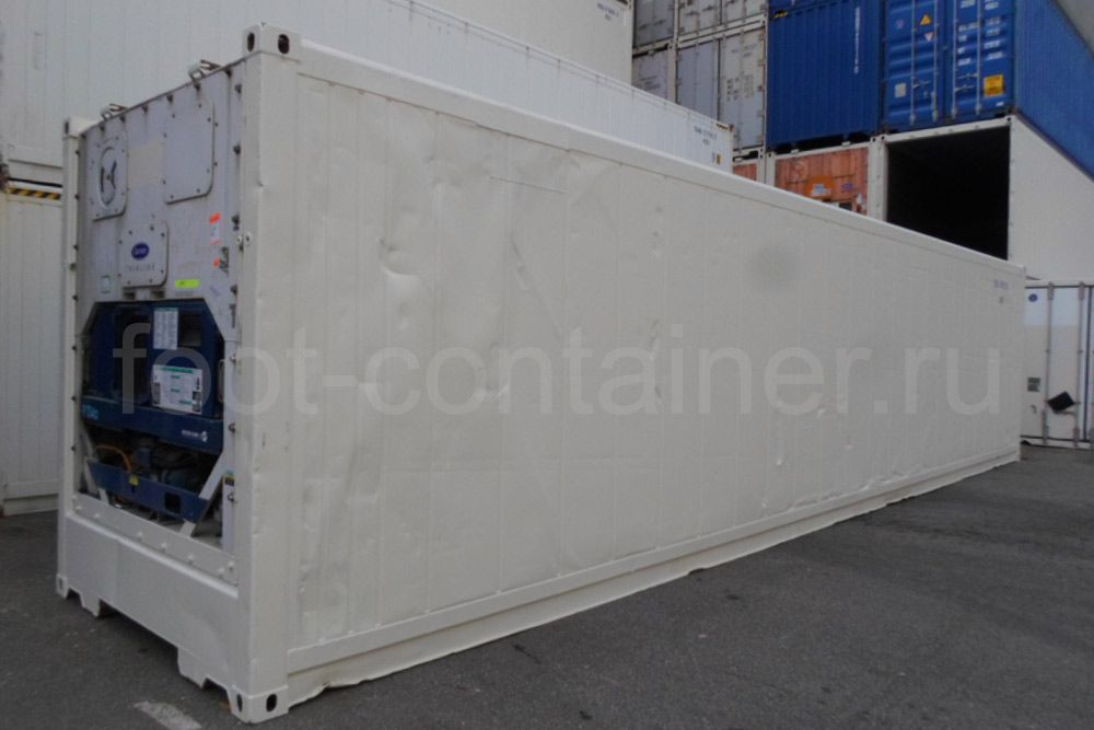 Рефконтейнер 40′ RCHC Carrier 1998 сбоку