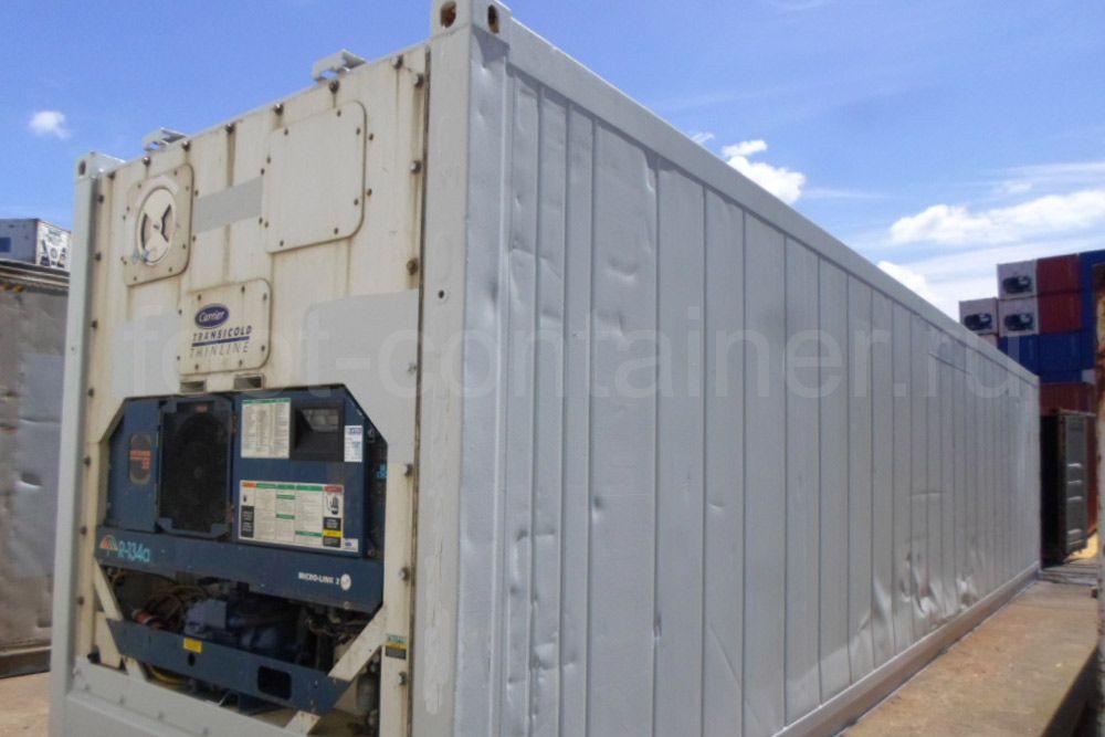Рефконтейнер 40 футов RC high cube Carrier 1999