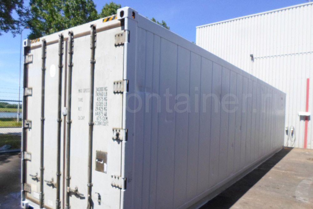Рефконтейнер 40 футов RC high cube Carrier 1999 сбоку