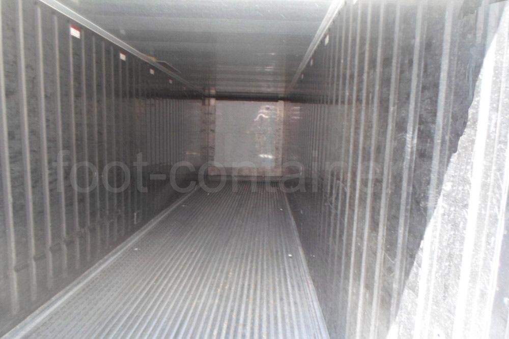 Рефконтейнер 40 футов RC high cube Carrier 1999 сбоку внутри