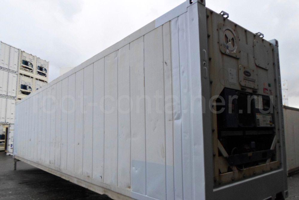Рефконтейнер 40 футов RC high cube Carrier 1999 сбоку сзади