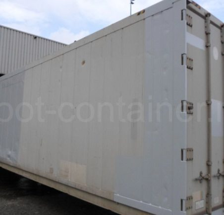 Рефконтейнер 40 футов RC high cube Carrier 1999 двери