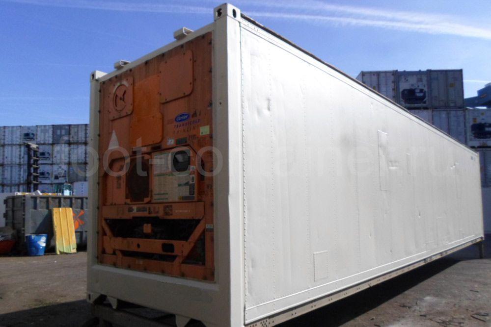 Рефконтейнер 40 футов RC высокий Carrier 2000 сзади