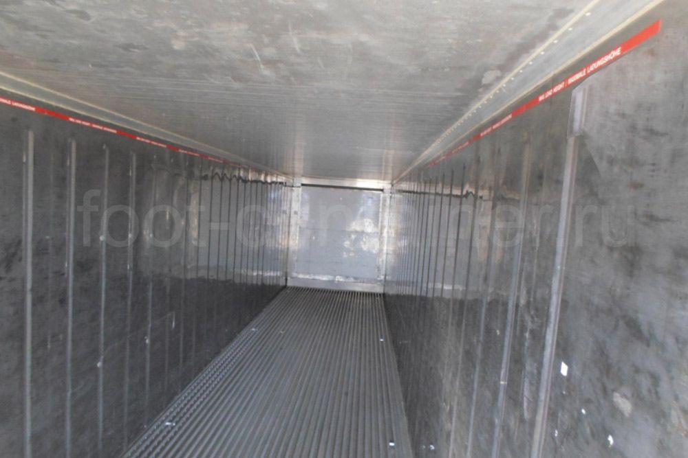 Рефконтейнер 40 футов RC высокий Carrier 2000 внутри