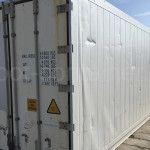 Рефконтейнер 40 футов RC высокий Carrier 2001 двери