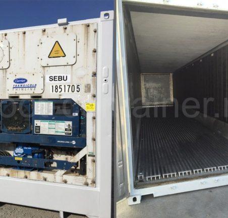 Рефконтейнер 40 футов RC высокий Carrier 2001 двери внутри