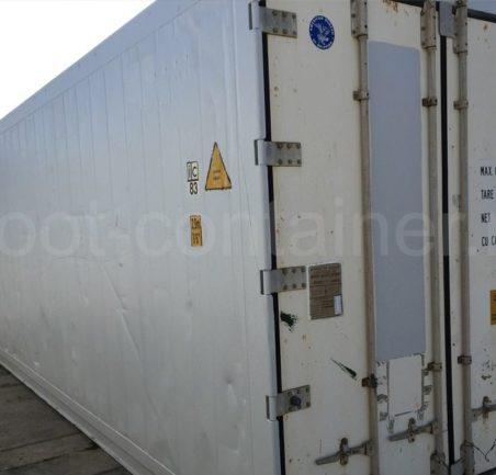 Рефконтейнер 40 футов RC высокий Carrier 2001 двери сбоку