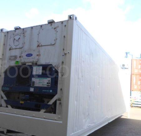 Рефконтейнер 40 футов высокий Carrier 2008 сзади