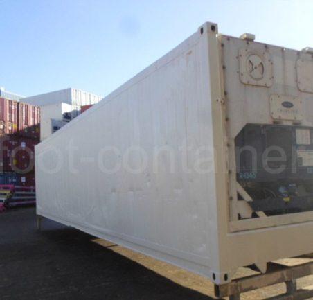 Рефконтейнер 40 футов высокий Carrier 2003 сзади