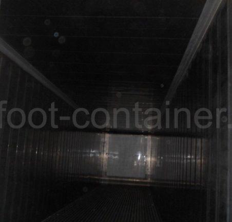 Рефконтейнер 40 футов высокий Carrier 2003 внутри