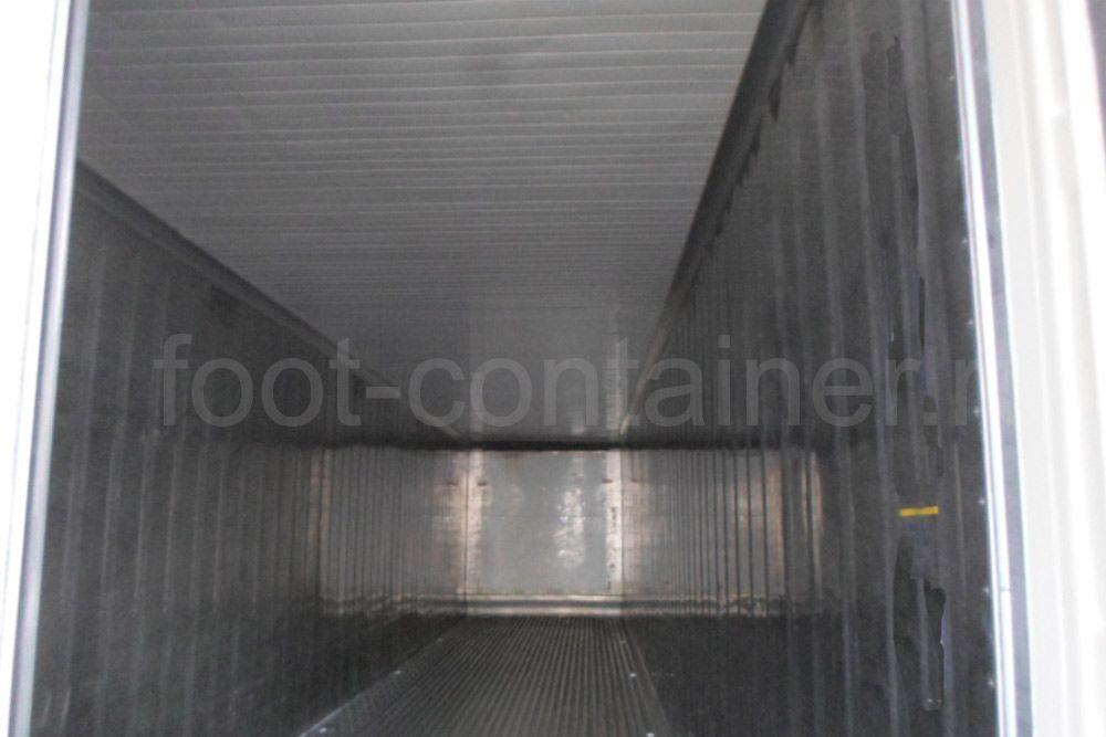Рефконтейнер 40 футов высокий Carrier 2008 внутри