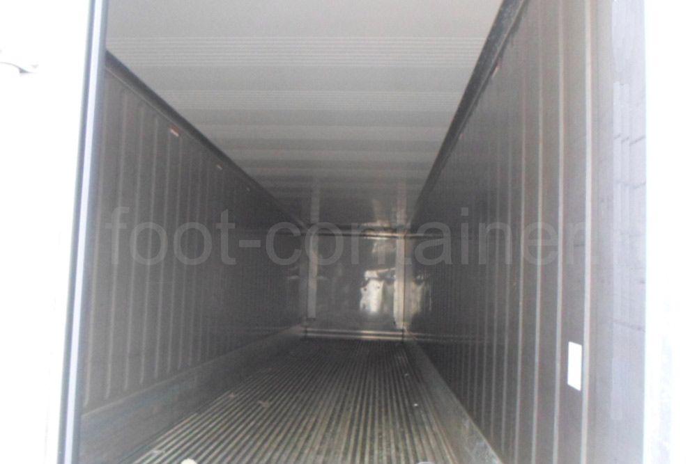 Рефконтейнер 40 футов высокий Carrier 2011 внутри