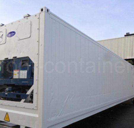 Рефконтейнер 40 футов высокий Carrier 2011 сбоку
