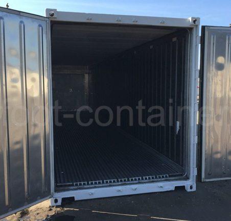 Рефконтейнер 40 футов высокий Carrier 2002 двери открыты