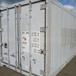 Контейнер изотермический 20 футов б/у двери