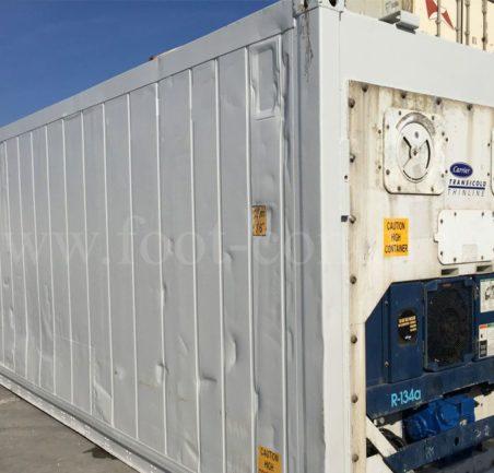 Контейнер изотермический 40 футов б/у сзади