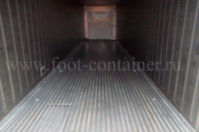 Контейнер изотермический 40 футов высокий б/у внутри
