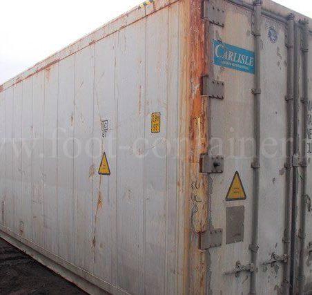 Контейнер изотермический 40 футов высокий б/у двери