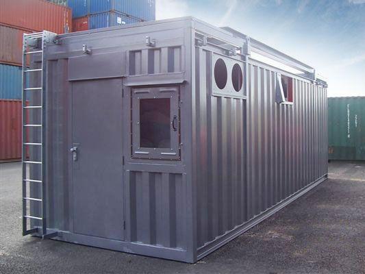 переоборудованный контейнер
