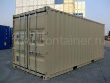 Новый контейнер 20 футов с дополнительными торцевыми дверями (20′ DD)