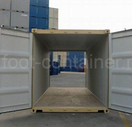 Контейнер 20 футов Double Door новый тунель