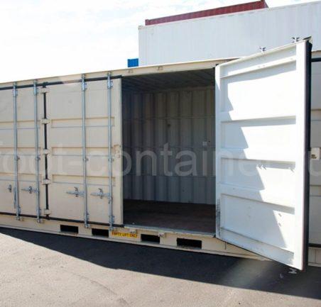 Контейнер 20 футов высокий с дополнительными боковыми дверями (20' HCOS) новый одна дверь открыта