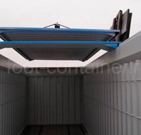 Контейнер 20 футов с жесткой съемной крышей (20' HT) новый