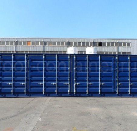 Контейнер 40 футов высокий с дополнительными боковыми дверями (40′ HCOS) новый