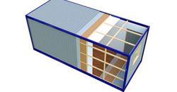 Внутренняя отделка блок-контейнеров
