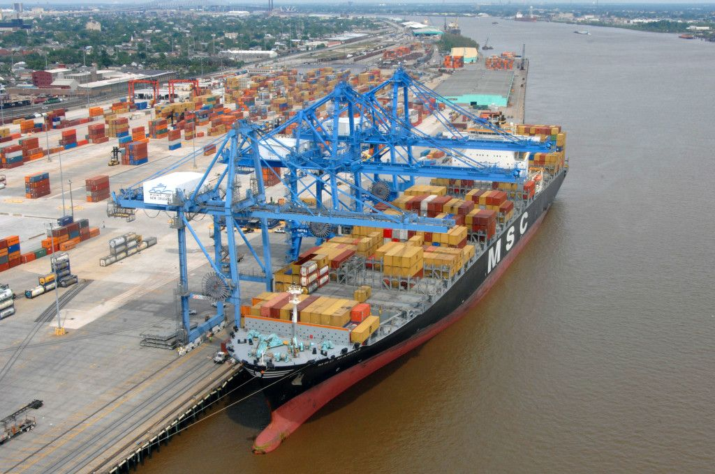 Доставка контейнера морем