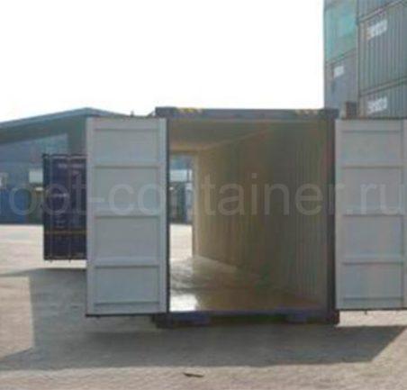 Контейнер 45 футов высотой 2,75 м. с доп. торцевыми дверями (45′ HCDD 9'1″) новый тунель
