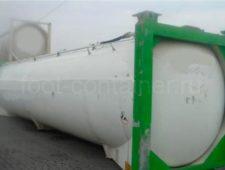 Контейнер 40 футов Tank Container новый сбоку