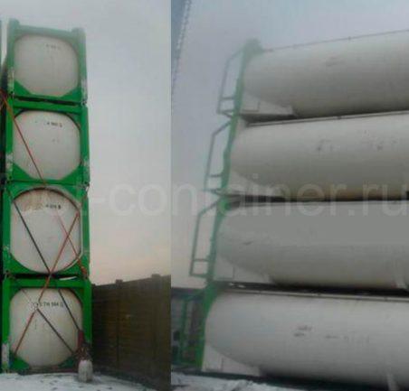 Контейнер 40 футов Tank Container новый на терминале