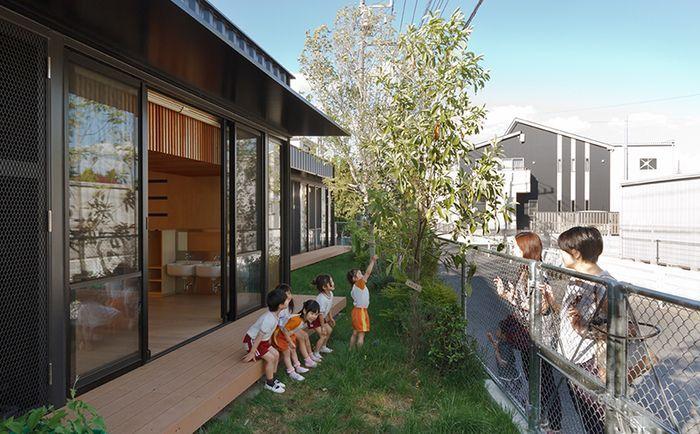 Детский сад из контейнеров, Япония