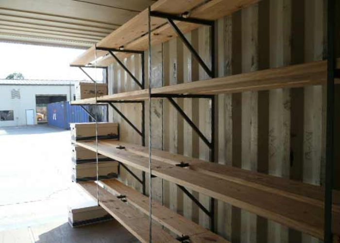 Удобно ли использовать контейнер, как склад?