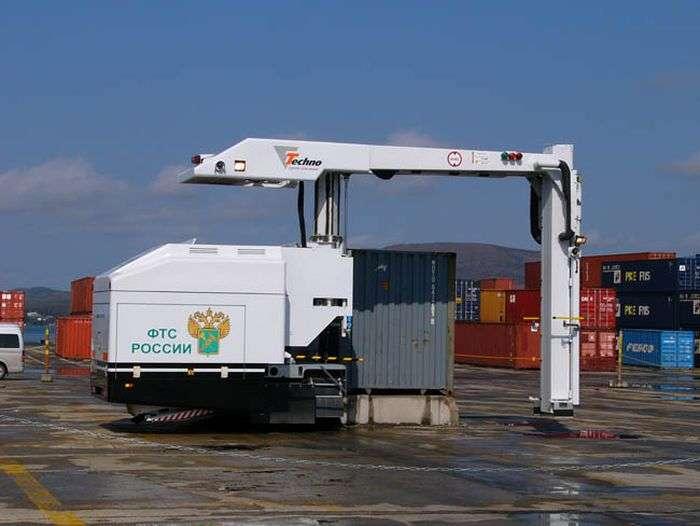 Новые инспекционно-досмотровые комплексы позволяют проводить осмотр контейнера всего за пять минут