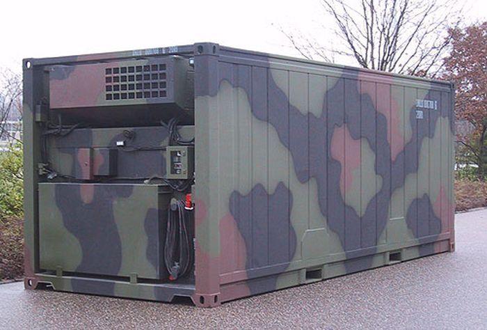 Использование переоборудованных морских контейнеров в военных целях – универсальное решение для «универсальных» солдат